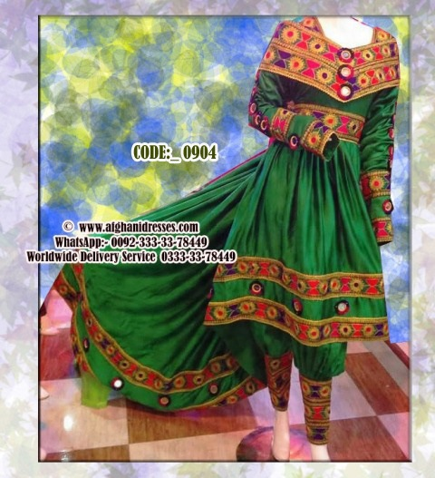 New Design Cloths | Afghan Modern Dress With Tail Style New Design Afghan Fashion